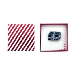 36 Units of Christmas Gift Pin Gift Box - Jewelry & Accessories