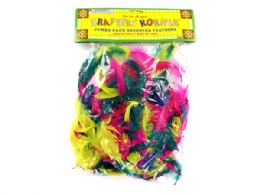 72 Units of Craft Feathers - Craft Beads