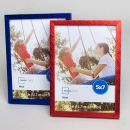 240 Units of Photo Frame 5 X 7 Metal 2 Asst Mainstays - Picture Frames