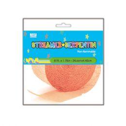 133 Units of Crepe Streamer Peach - Streamers & Confetti