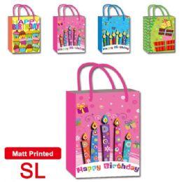 "72 Units of B'day bag 16.7x22x6.5""/ SL - Gift Bags"