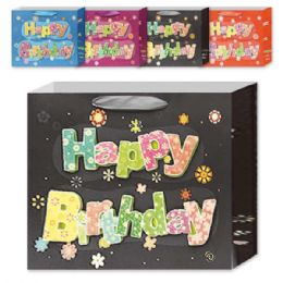 144 Units of Birthday Gift Bag - Gift Bags Assorted