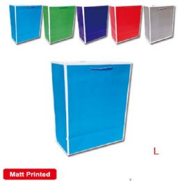 "144 Units of Bag solid color 10.5x13x5.5"" /Large"