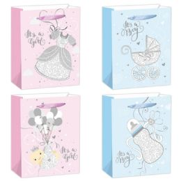 144 Units of Baby Bag Large - Gift Bags