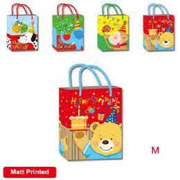 """144 Units of B'day bag MP 7.5x9x4""""/ Medium - Gift Bags"""