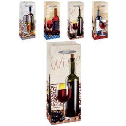 "144 Units of Wine bag MP 5x14.5x3.5"" - Gift Bags"