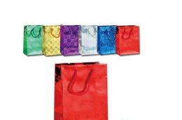 "48 Units of Hologram bag 19.5x29x7""/SG - Gift Bags"