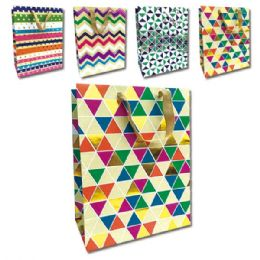 144 Units of Every Day Gift Bags Large - Gift Bags Assorted