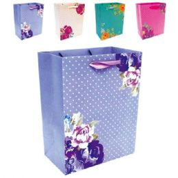 "72 Units of E'day Hot Stamping 13x18x5.5""/X Large - Gift Bags"