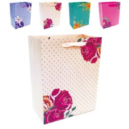 """144 Units of E'day Hot Stamping 10.5x13x5.5""""/Large - Gift Bags"""