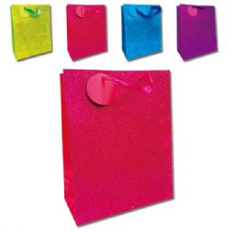 """72 Units of E'day GLT 13x18x5.5""""/XL 72's solid color - Gift Bags"""