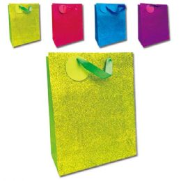 """72 Units of E'day GLT 10.5x13x5.5""""/Large solid color - Gift Bags"""