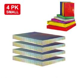 """96 Units of 4 Piece holograph box 11x8.25x1.5""""/Small - Gift Bags"""
