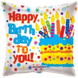 125 Units of One Side Helium Balloon Cake Design - Balloons & Balloon Holder