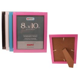 """240 Units of 8""""x10"""" Photo Frame 4 Assorted Colors - Picture Frames"""