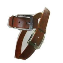 72 Units of Men's Brown Belt Assorted Size - Mens Belts
