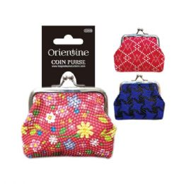 144 Units of Coin purse Assorted Styles - Leather Purses and Handbags