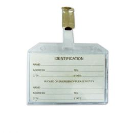 144 Units of Transparent ID holder - ID Holders
