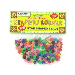 72 Units of Star Shaped Crafting Beads - Craft Beads