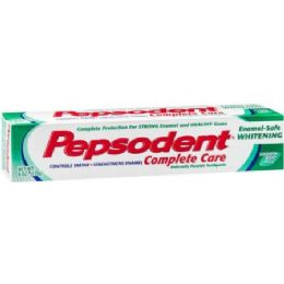 72 Units of Pepsodent White 5.5 Oz - Toothbrushes and Toothpaste