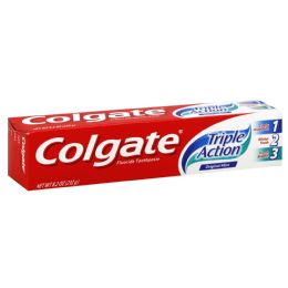 24 Units of Colgate Triple Action - Toothbrushes and Toothpaste