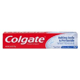 96 Units of Colgate Brisk Mint - Toothbrushes and Toothpaste
