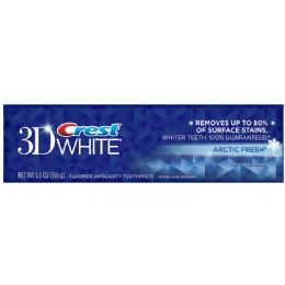 24 Units of Crest Tooth Paste 3D whtietning artic 5.5oz - Personal Care Items