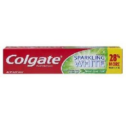 24 Units of Colgate Tooth Paste sparkling white mint - Toothbrushes and Toothpaste