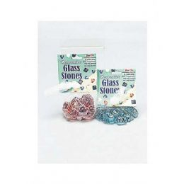 60 Units of Stars And Hearts Glass Stones (assorted Colors) - Rocks, Stones & Sand