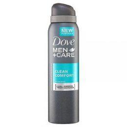 36 Units of Dove Men Clean Comfort 150ml - Deodorant