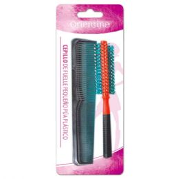 96 Units of Hair Comb Set - Hair Brushes & Combs
