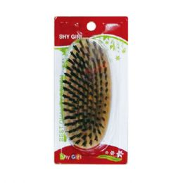 72 Units of Wood Brush Hard - Hair Brushes & Combs