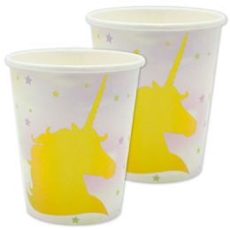 144 Units of Ten Count Unicorn Paper Cup - Party Paper Goods