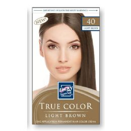 72 Units of Lucky Hair Color Lady/light Brown - Hair Products