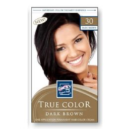 72 Units of Lucky Hair Color Lady/dark Brown - Hair Products