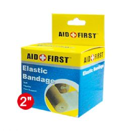 96 Units of Two Inch Elastic bandage - Bandages and Support Wraps