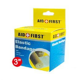 96 Units of Three Inch Elastic bandage - Bandages and Support Wraps