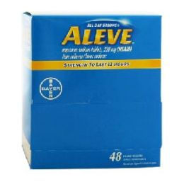 6 Units of Aleve regular 48 count - Pain and Allergy Relief
