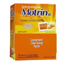 Motrin 50 count - Pain and Allergy Relief