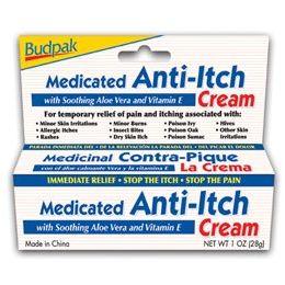 72 Units of Budpak medicated antiitch 1oz - Skin Care
