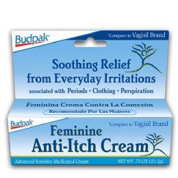 72 Units of Budpak fem anti-itch .75oz - Skin Care