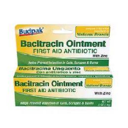 72 Units of Budpak bacitracin 0.5oz - Skin Care
