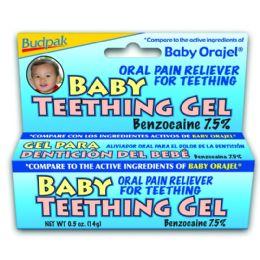 72 Units of Budpak baby teething 0.5oz - Skin Care