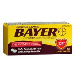 5 Units of Bayer 50 Count - Pain and Allergy Relief