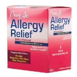 8 Units of Allergy relief prime aid 30 Count - Pain and Allergy Relief
