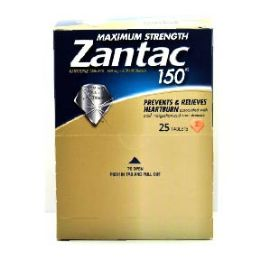 6 Units of Zantac 150 25 Count - Pain and Allergy Relief