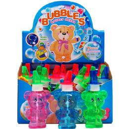 "96 Units of 5.25"" Bubble Bottle W/whistle - Bubbles"