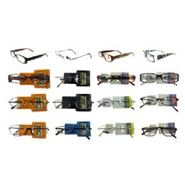 24 Units of Fashion Readers Assorted High End Reading Glasses - Reading Glasses