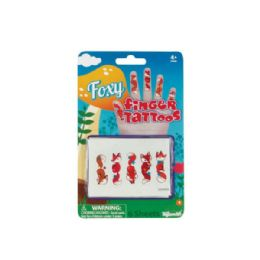 108 Units of Foxy Temporary Finger Tattoos - Tattoos and Stickers