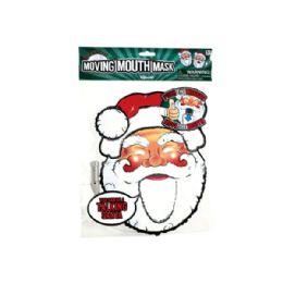 144 Units of Talking Headz Santa Moving Mouth Mask - Party Hats & Tiara